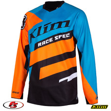 New 2020 KLIM Race Spec Jersey - Vivid Blue - MD Snowmobile Enduro UTV ATV