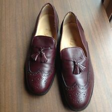 WHYRED BROGUE MENS LEATHER SHOES SIZE 44 MADE IN ITALY