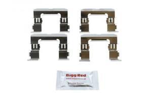 for NISSAN PICKUP D22 1998- FRONT L & R Brake Caliper Pad Fitting Kit (H1632)