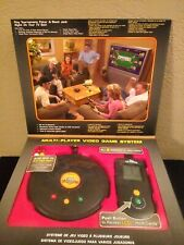 New Deluxe TV Poker Texas Hold'Em Black Jack Video Game System 6 Player Edition