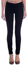 New Paige Denim Verdugo Ultra Skinny Stretch Jeans Black/Midnight High Beams 24