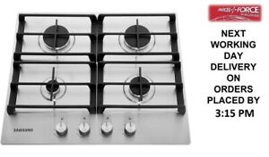 Samsung NA64H3010AS 60cm 4 Burners Stainless Steel Gas Hob + 2 Year Warranty