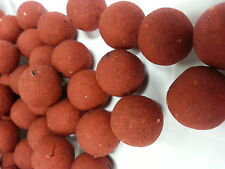 # RED TROPICAL COCKTAIL CARP FISHING BOILIES / BAIT 100G 15MM