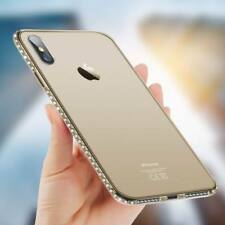 Luxury Diamond Ultra-thin Soft Silicone TPU Case Cover For iPhone X XS Max 7Plus