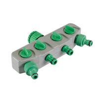 """Sélecteur d'eau 4 circuits reseaux Pour robinet 20/27 ou 26/34, 3/4"""" ou 1/2"""""""
