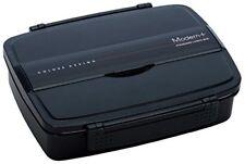 Shokado Lunch Box 870 ml Bento Box Modern Plus Black Po5S-3680-Multi Japan