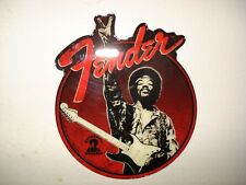 "1 Fender JIMI HENDRIX ""Peace Sign"". FRIG MAGNET. NEW. guitar case bass amp"