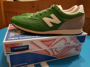 Mens New Balance Trainers. Green, Size 9. Near mint. Worn ONCE!