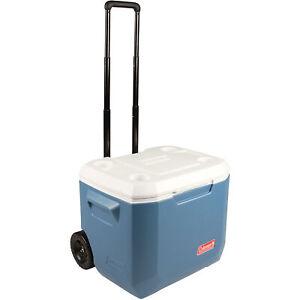 Coleman Xtreme Wheeled 50Qt Kühlbox, blau