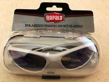 5126 Rapala Polarized Fishing Sport SunGlasses 100% UV Protection - Silver