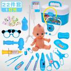 22Pc Pretend Play Toys Toddler Play Set Gift Kids Doctor Playset Girls Nurse Kit