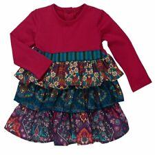 Nwt Persnickety World Market Paisley Dress Purple Floral Ruffles Girls sz 2 3