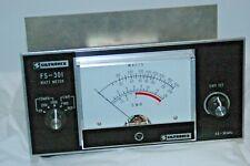 SILTRONIX FS-301 METER SWR,FS,POWER METER
