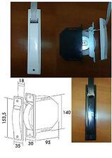 Recogedor embutido de persiana compacto con cinta de 18 mm, empotrado