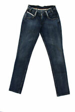 Cotton Faded Ultra Low Rise Slim, Skinny Jeans for Women