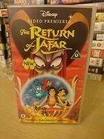 Walt Disney vhs  animated video tape The Return of Jafar - Aladdin's Adventures