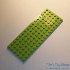Lego 1x Tile plaque lisse modified 6x16 studs on edge bleu//blue 6205 60052 NEUF