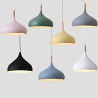 Kitchen Pendant Light Wood Bar Lamp Home Pendant Lighting Bedroom Ceiling Lights