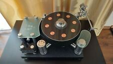 S.A.M. Top of the game Reference turntable with SAM Tonearm!! 33.3/45rpm Belt dr