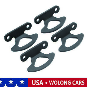4x Truck Bed Inner Tie Down Hooks Anchor Fit for 2005-2008 Lincoln Mark LT