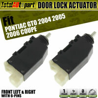 2004-2006 Pontiac GTO OEM RH Right Passenger Door Latch Lock Actuator Assembly