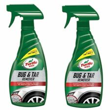 Turtle Wax Bug & Tar Remover Easy Car Cleaner Tree Sap Stains Spray 2 x 500ml