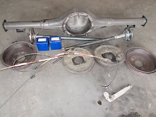 "Ford XR-XT-XW-XY 9 inch 9"" diff housing and axles drum brake"