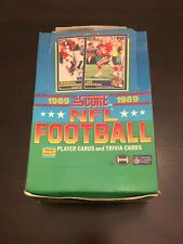 1989 Score NFL Unopened Packs Barry Sanders Troy Aikman Michael Irvin rookie