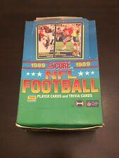 1989 Score NFL Unopened Packs Barry Sanders Troy Aikman Michael Irvin rookie