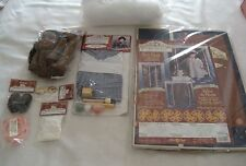 "Lot 8 Springfield Collection 18"" Doll Kit Stencil Kit Carring Case  Accessories"