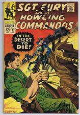 Sgt Fury and His Howling Commandos #37 ORIGINAL Vintage 1966 Marvel Comics
