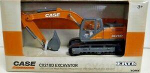 Case Construction 1/50 Scale Die-Case Metal Replica CX210D Excavator Toy