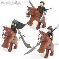 R0v1 Lego Three Kingdoms Liu Bei Guan Yu Zhang Fei Minifigures 三國 劉備 關雲長 張飛 NEW