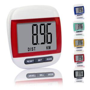 Waterproof Pedometer Step Counter Walking Jogging Running Digital Pedometer