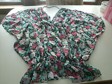 Victorias secret ladies floral cover up size medium