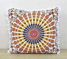 "New 16X16"" Square Multi Mandala Small Pillow Cushion Cover Room Decorative Throw"