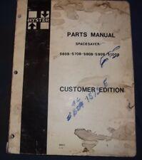 Hyster S60b S70b S80b S90b S100b Forklift Parts Manual Book Catalog
