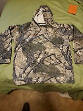 Core4Element mountian mimicry pullover hoodie. Fleece like inside.