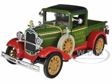 1931 FORD MODEL A PICK UP TRUCK GREEN 1/32 DIECAST MODEL CAR BY NEW RAY 55143B