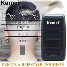 Kemei Electric Shaver Rechargeable Floating Cordless Shaver Hair Trimmer Clipper