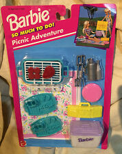 BARBIE SO MUCH TO DO - PICNIC ADVENTURE (ARCOTOYS) 1995