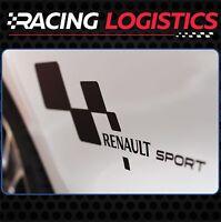 Decals Stickers Vinyl Renault Sport RS Turbo Clio Megane Laguna Captur Gordini