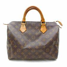 Originale Louis Vuitton Borsetta Speedy 25 M41528 Marrone Monogramma 302334