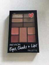 Revlon Palette Eyes Cheeks and Lips 100 Romantic Nudes