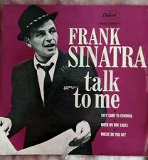 MINT CONDITION FRANK SINATRA TALK TO ME EP RECORD VINYL CAPITOL 1ST PRESSING