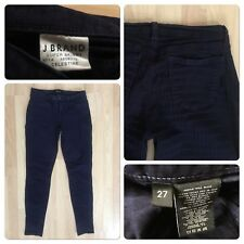 "J BRAND Size 27 Celestine Pants Super Skinny Inseam 29"" Cotton Elastane 3% Blue"