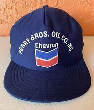 Vintage Perry Bros. Oil Co. Inc Chevron Mesh SnapBack Truckers Hat