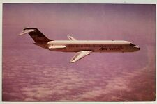 Vintage Postcard Air West Airlines McDonnell Douglas Dc9 airplane (Mary Jayne's)