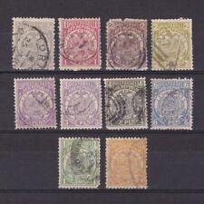 TRANSVAAL SOUTH AFRICA 1885, SG# 175-184, CV £22, short set, Used