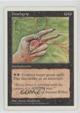 1997 Magic: The Gathering - Core Set: 5th Edition #NoN Deathgrip Magic Card 1i3